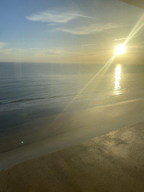 BeachYogaTheShoresResort